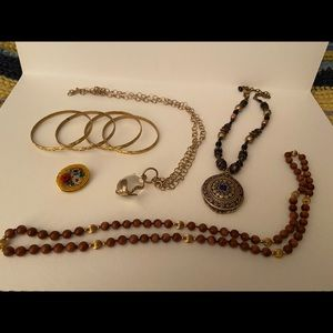 Gold accents jewelry bundle !